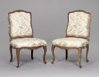 A MATCHED PAIR OF LOUIS XV BEE