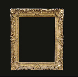 A LOUIS XV GILTWOOD PICTURE FR