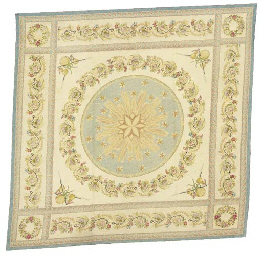 A FRENCH NEEDLEPOINT CARPET