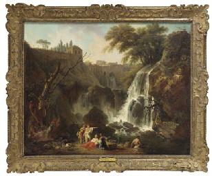 The waterfalls near Tivoli wit
