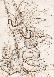 Saint Michael triumphing over