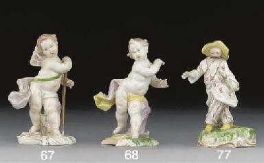 A Frankenthal figure of an Ori