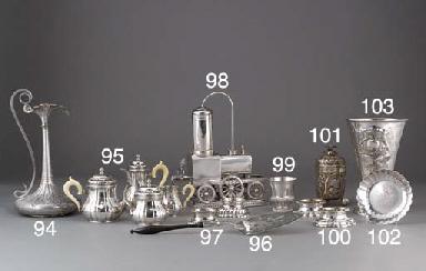 A German Silver Goblet