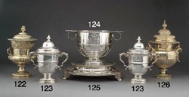 A Late Victorian Silver-Gilt T