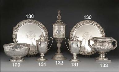 A Victorian Scottish Silver Tw