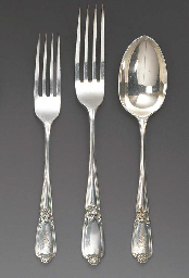 A Canteen of George V Silver F