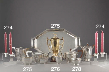 A Set of Six Modern Silver Two