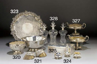 A Victorian Silver-Mounted Hoo