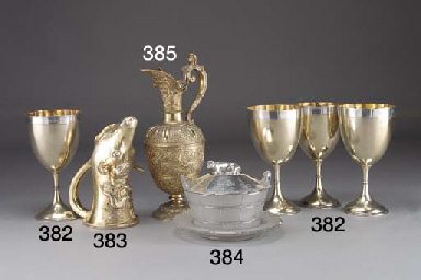 A Set of Four Victorian Parcel