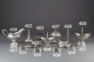 A Pair of George III Silver Bo