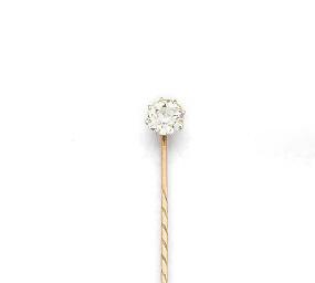 A diamond single stone stick p