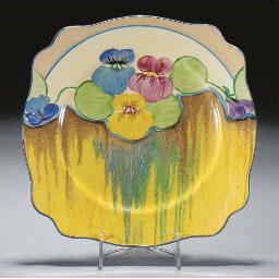 A Delecia Pansy Plate