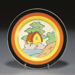 AN ORANGE ROOF COTTAGE PLATE
