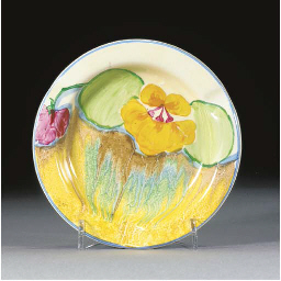 A DELECIA PANSY ASHTRAY
