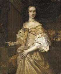 Portrait of Lady Catherine Dor