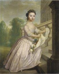 Portrait of Ann Wo[o]lfe, full