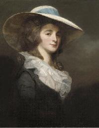 Portrait of Lady Herries, half