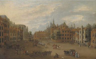 View of Old Palace Yard, Westm