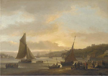 Shipping on the River Dart at