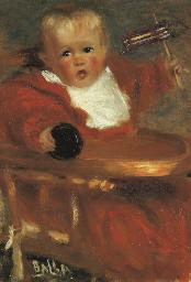 Ritratto del bambino Carluccio
