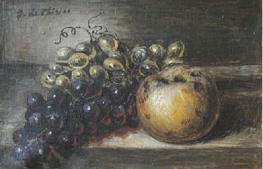 Vita silente di frutta su un t