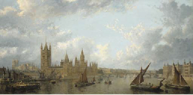 View of Westminster from the T