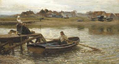 Walberswick Ferry (1875)