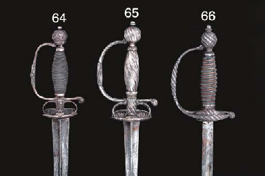 A SILVER-HILTED SMALL-SWORD