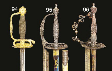 TWO ENGLISH SMALL-SWORDS WITH