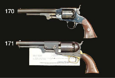 A .44 COLT THIRD MODEL DRAGOON