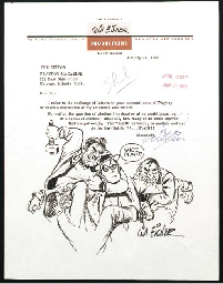 [CARTOONISTS]. EISNER, Will (b