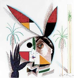 Rabbit Head Logo, 1991