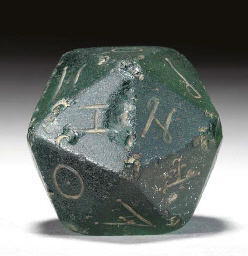 Ancient Roman gaming die