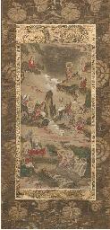 A kakemono, 16th/17th century