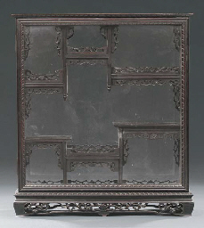 A Thai lacquered and gilt wood