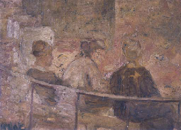Three Working Women Resting in