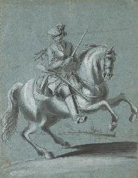 Un cavalier portant un tricorn