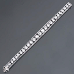 BRACELET LIGNE DIAMANTS