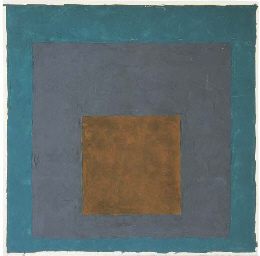 Homage to the square (brown, g