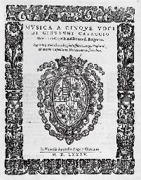 CAVACCIO, Giovanni. Musica a c