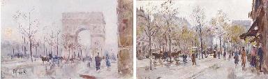 L'Arc de Triomphe; Promenade à