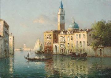 A Venetian canal near the Lago