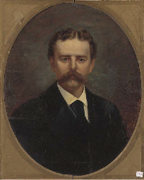 Portrait of a gentleman, bust
