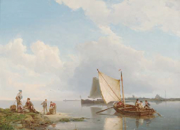 Dutch sailing boats off-shore