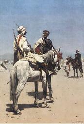 An Arab on Horseback