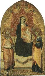 Madonna con Bambino in trono c