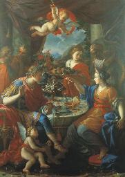 Il banchetto di Antonio e Cleo