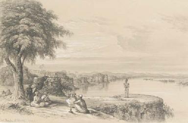 Fort Monghir, on the Ganges, n