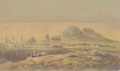 The Temple of Olympian Zeus, A