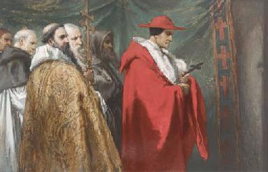 Cardinal Pandolphus at the ex-